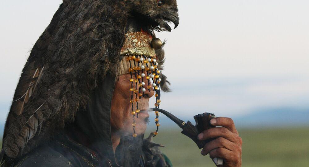 Sciamano di Tuva