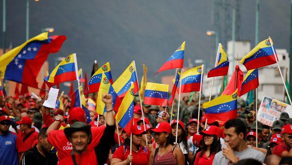Las banderas de Venezuela - Sputnik Italia