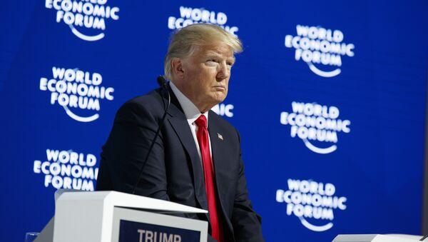 Donald Trump al Forum economico mondiale (WEF) - Sputnik Italia