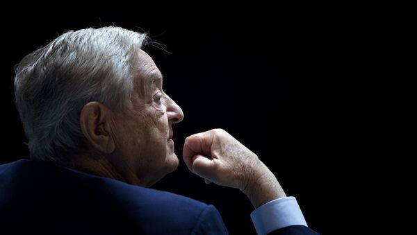 George Soros, Chairman of Soros Fund Management - Sputnik Italia