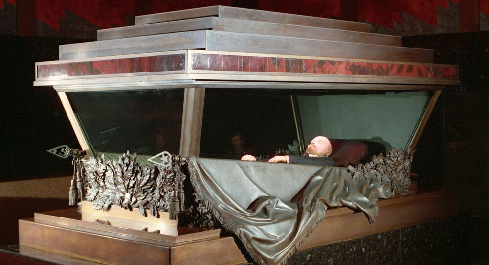 Il corpo di Lenin