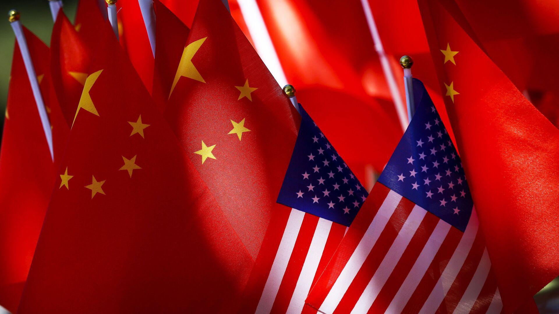 Bandiere Cina USA - Sputnik Italia, 1920, 24.05.2021