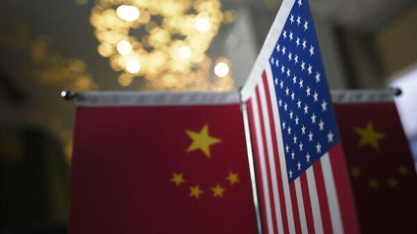 Bandiere Cina USA - Sputnik Italia
