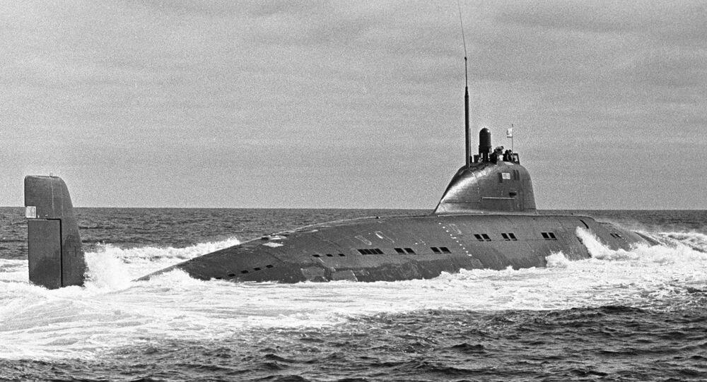 Sottomarino sovietico (foto d'archivio)