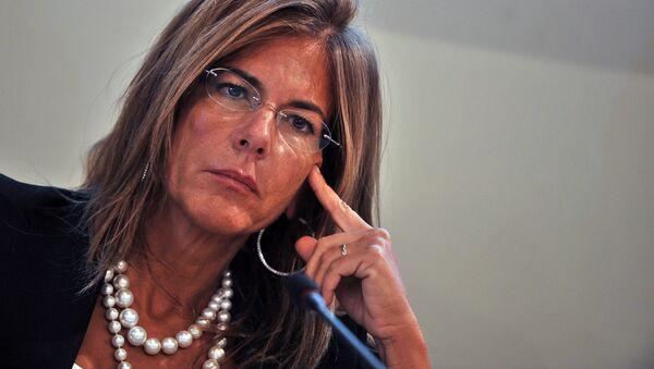 Emma Marcegaglia, presidente dell'Eni - Sputnik Italia