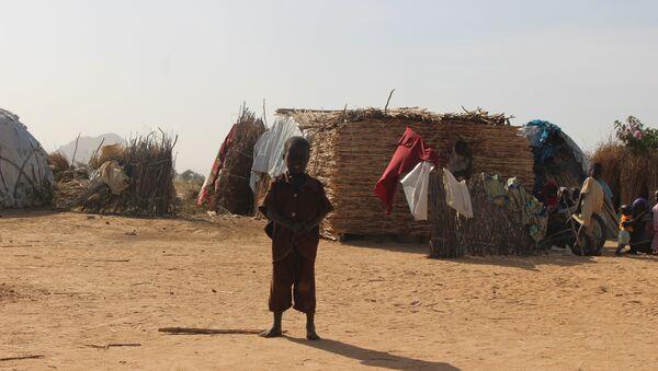 Dans un camp des déplacés Mémé, Extrême-Nord du Cameroun - Sputnik Italia