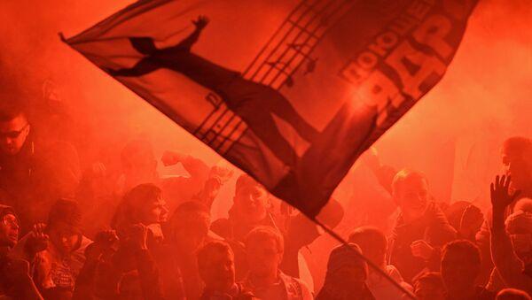 Tifosi del CSKA sugli spalti - Sputnik Italia