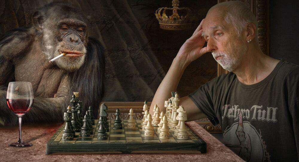 Partita a scacchi contro il campione