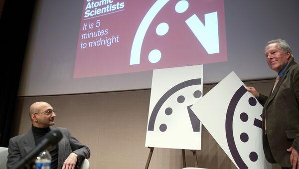L'orologio dell'Apocalisse del Bullettin of the Atomic Scientists - Sputnik Italia
