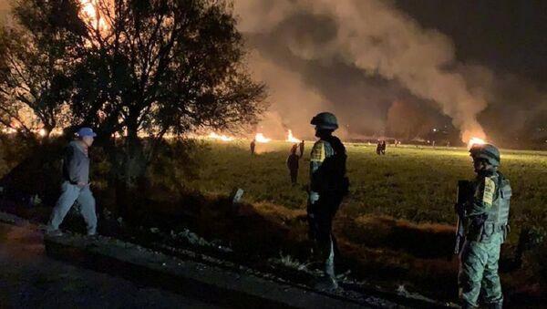 Esplosione dell'oleodotto in Messico - Sputnik Italia