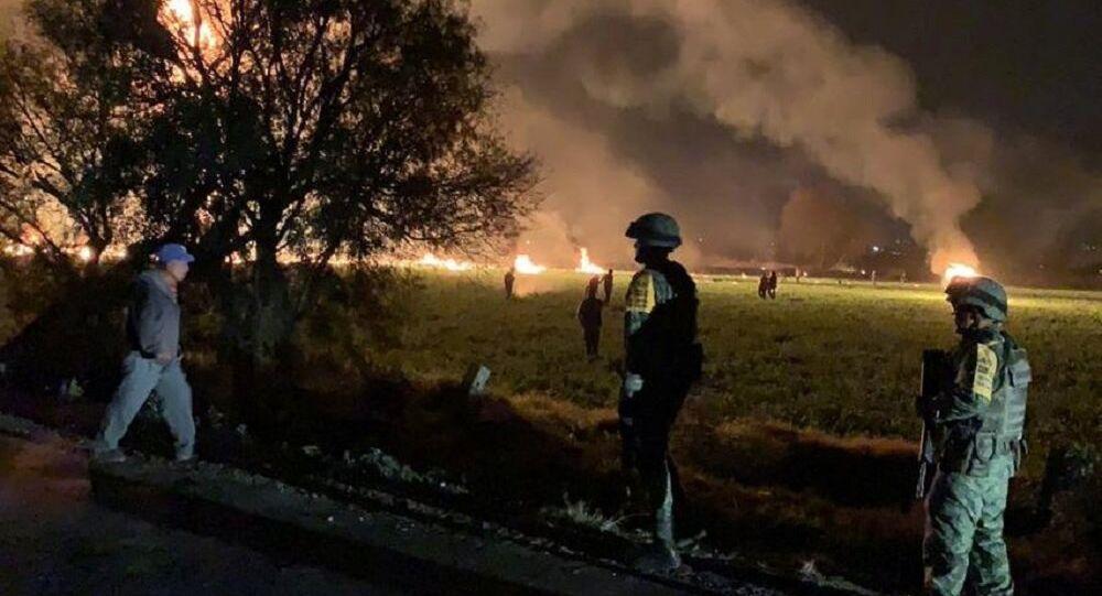 Esplosione dell'oleodotto in Messico