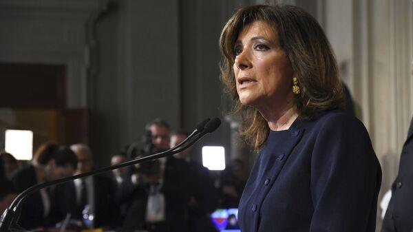 Presidente del Senato italiano Maria Elisabetta Alberti Casellati - Sputnik Italia