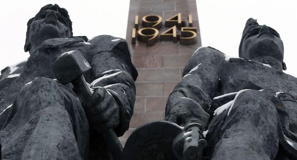 Monumento ai difensori di Leningrado (San Pietroburgo)