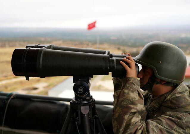 Soldato turco in Siria (foto d'archivio)