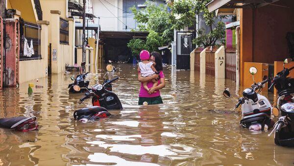 Inondazioni in Indonesia - Sputnik Italia