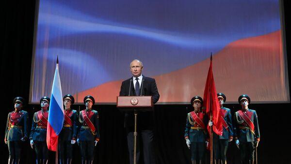 President Putin attends events marking 75th anniversary of breaking Nazi siege of Leningrad. - Sputnik Italia