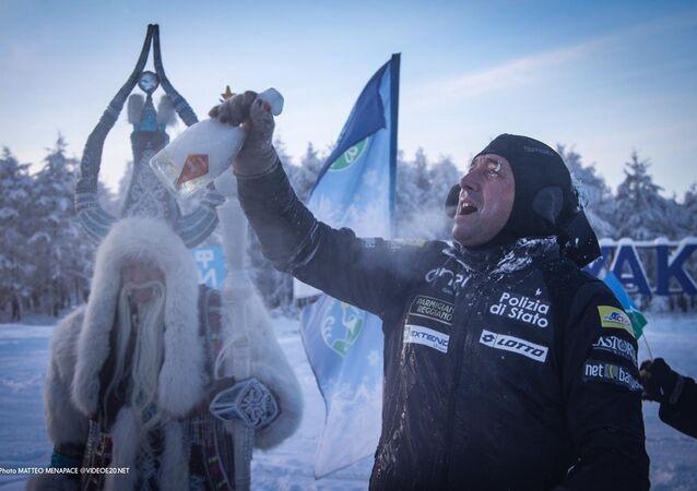 Paolo Venturini celebra la sua avventura