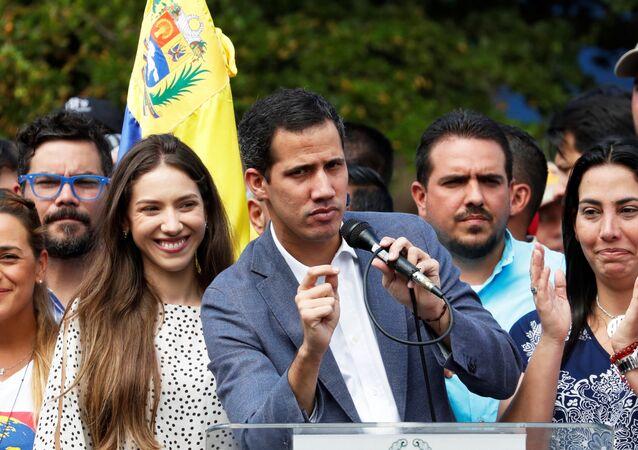Juan Guaidó, presidente dell'Assemblea nazionale del Venezuela e leader dell'opposizione