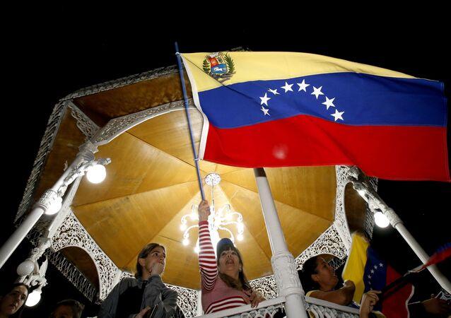 Venezuela: la manifestazione contro il presidente Maduro
