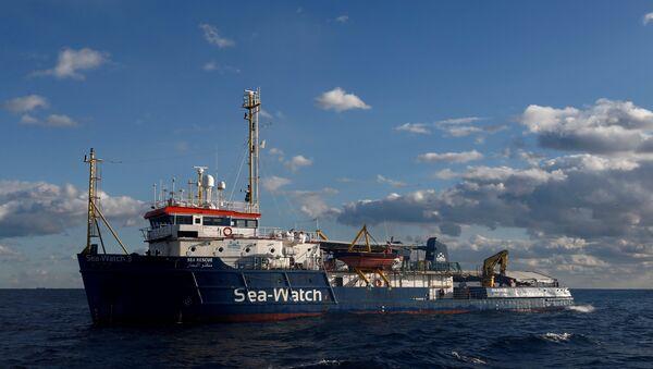 Nave Sea Watch 3 della Ong Sea Watch - Sputnik Italia