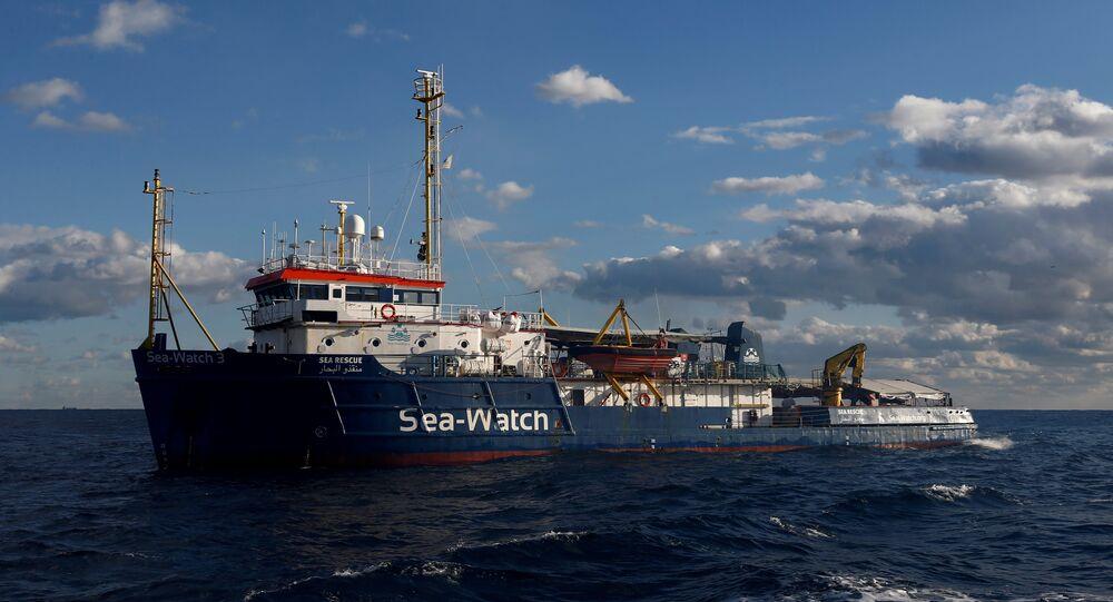 Nave Sea Watch 3 della Ong Sea Watch