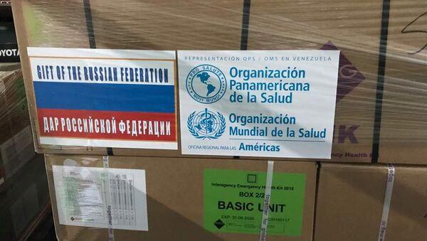Medicamenti donati a Venezuela da Russia - Sputnik Italia