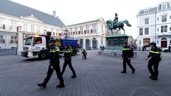 La polizia in Olanda - Sputnik Italia