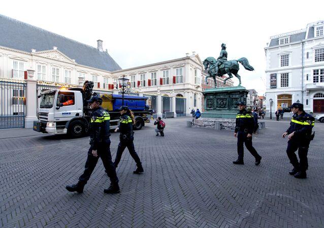 La polizia in Olanda