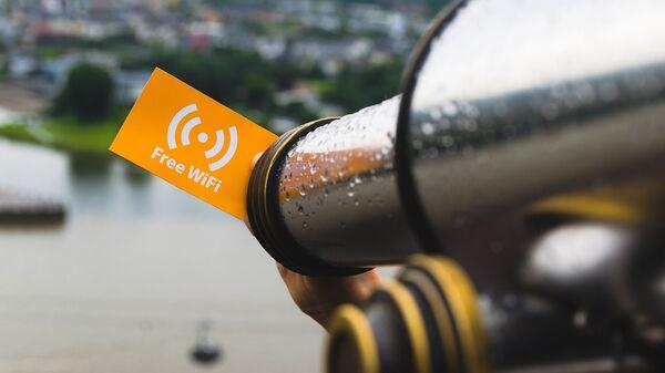 Il wi-fi gratuito - Sputnik Italia