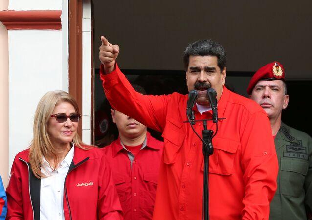 Nicolás Maduro, presidente del Venezuela