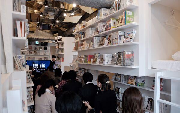 Il primo hotel a capsule dedicato agli appassionati di manga - Sputnik Italia
