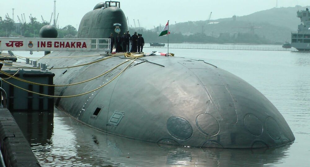 Consegna del sommergibile INS Chakra,  K-152 Nerpa, alla marina indiana