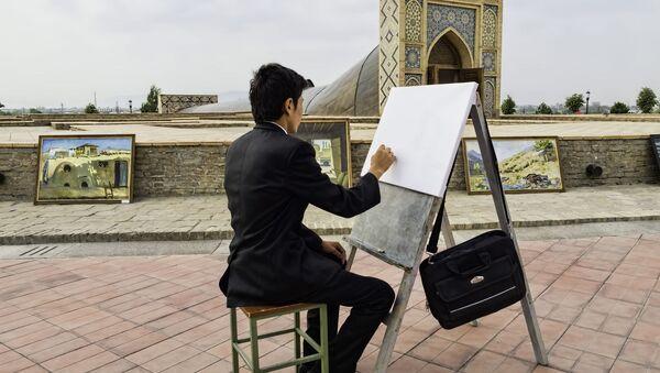 Un pittore a Samarcanda - Sputnik Italia
