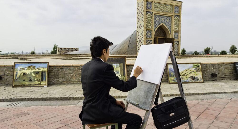 Un pittore a Samarcanda