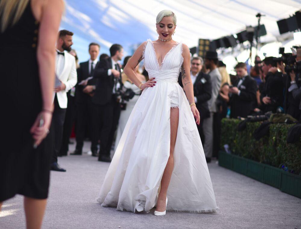 Cantante e attrice Lady Gaga durante il 25° Annual Screen Actors Guild Awards a Los Angeles.