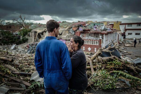 Le conseguenze del tornado a Havana, Cuba. - Sputnik Italia