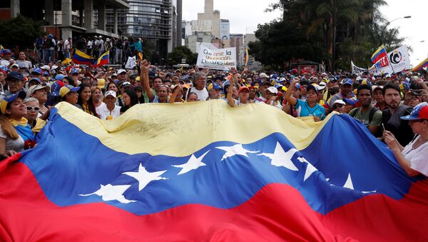 Manifestazione contro Maduro a Caracas - Sputnik Italia