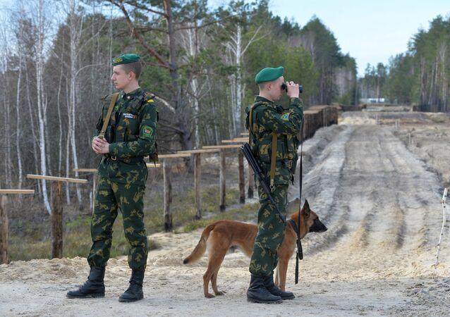 Il confine tra Bielorussia e Ucraina
