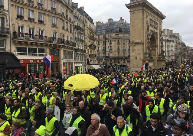 La manifestazione gilet gialli, il 26 gennaio del 2019