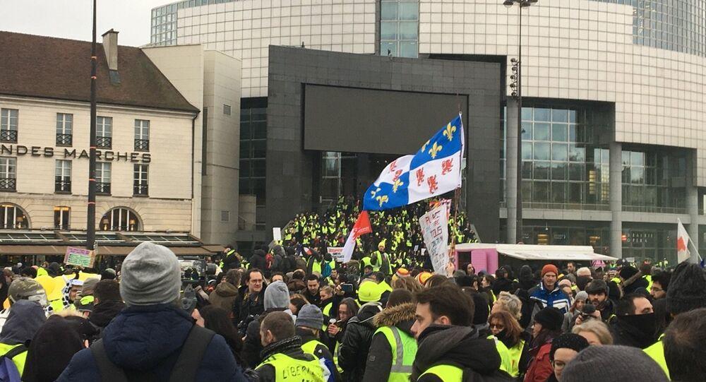 La manifestazione gilet gialli, il 2 febbraio del 2019