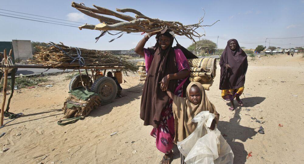 La siccita in Somalia