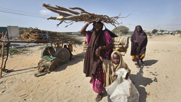 La siccita in Somalia - Sputnik Italia