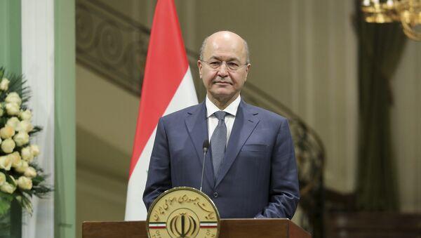 Iraqi President Barham Salih - Sputnik Italia