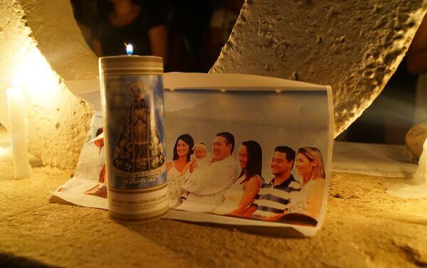 La foto di una famiglia morta nel crollo della diga. - Sputnik Italia