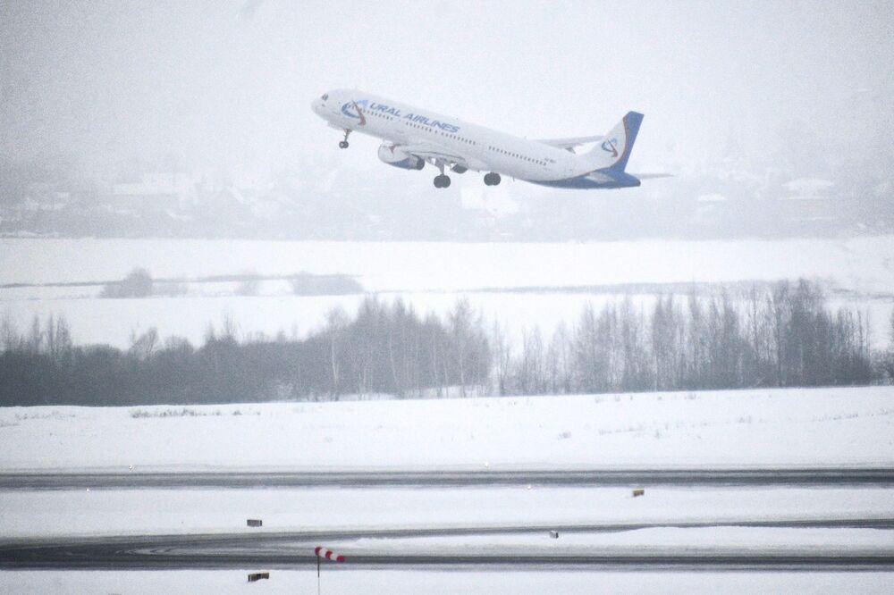 Un giorno all'aeroporto di Domodedovo