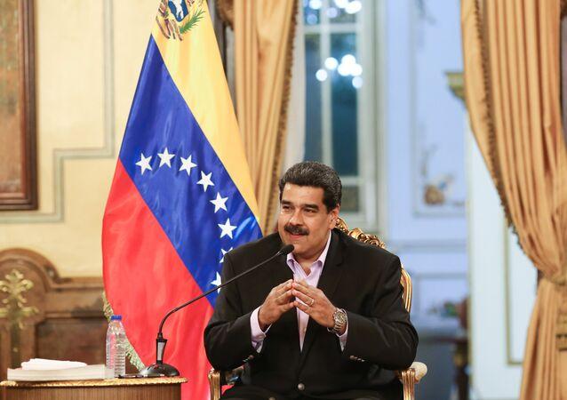 Nicolas Maduro, il presidente del Venezuela