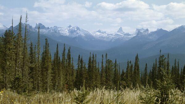 Yergaki range in the West Sayany mountain range, southern Siberia. (File) - Sputnik Italia