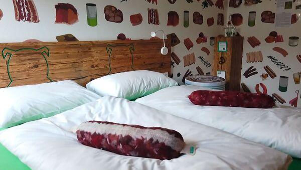 Il primo hotel al mondo per gli amanti delle salsicce - Sputnik Italia