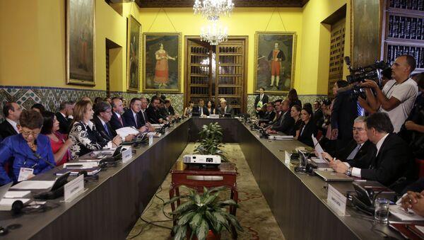 Riunione del gruppo Lima - Sputnik Italia