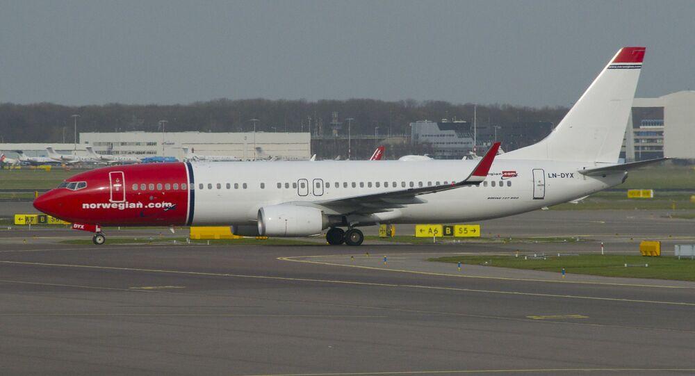 Boeing 737-800 di Norwegian Air